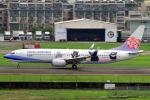 Eric Chenさんが、高雄国際空港で撮影したチャイナエアライン 737-8FHの航空フォト(写真)