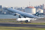 ぽん太さんが、羽田空港で撮影したキャセイパシフィック航空 777-367/ERの航空フォト(写真)