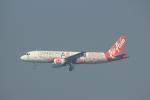 蒲田賢二さんが、香港国際空港で撮影したエアアジア A320-216の航空フォト(写真)
