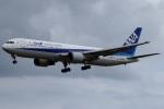 miho-6467さんが、米子空港で撮影した全日空 767-381/ERの航空フォト(写真)