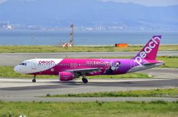 kix-boobyさんが、関西国際空港で撮影したピーチ A320-214の航空フォト(写真)