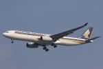 安芸あすかさんが、スワンナプーム国際空港で撮影したシンガポール航空 A330-343Xの航空フォト(写真)