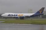 マリオ先輩さんが、横田基地で撮影したアトラス航空 747-47UF/SCDの航空フォト(写真)