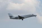 LEVEL789さんが、岡山空港で撮影したノエビア 680 Citation Sovereignの航空フォト(写真)