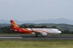 LEVEL789さんが、岡山空港で撮影した香港航空 A320-214の航空フォト(写真)