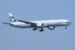 ceskykrumlovさんが、羽田空港で撮影したキャセイパシフィック航空 777-367/ERの航空フォト(写真)