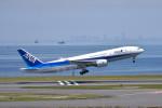 turenoアカクロさんが、羽田空港で撮影した全日空 777-281の航空フォト(写真)