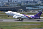 turenoアカクロさんが、羽田空港で撮影したタイ国際航空 747-4D7の航空フォト(写真)