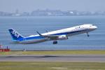 turenoアカクロさんが、羽田空港で撮影した全日空 A321-211の航空フォト(写真)