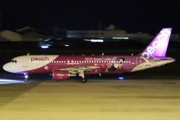 やさい弁当さんが、松山空港で撮影したピーチ A320-214の航空フォト(写真)