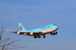 zero1さんが、成田国際空港で撮影した大韓航空 747-4B5F/SCDの航空フォト(写真)