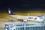 kurubouzuさんが、神戸空港で撮影したスカイマーク 737-81Dの航空フォト(写真)