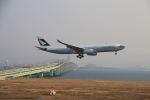 zero1さんが、関西国際空港で撮影したキャセイパシフィック航空 A330-342の航空フォト(写真)