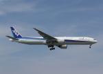 渚のカセットさんが、那覇空港で撮影した全日空 777-381の航空フォト(写真)