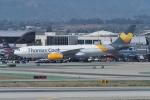 JA1118Dさんが、ロサンゼルス国際空港で撮影したトーマスクック・エアラインズ・スカンジナビア A330-243の航空フォト(写真)