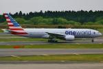 あしゅーさんが、成田国際空港で撮影したアメリカン航空 777-223/ERの航空フォト(写真)