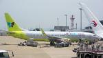 coolinsjpさんが、福岡空港で撮影したジンエアー 737-8B5の航空フォト(写真)