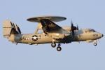 Flankerさんが、厚木飛行場で撮影したアメリカ海軍 E-2D Advanced Hawkeyeの航空フォト(写真)