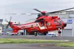 はるかのパパさんが、東京ヘリポートで撮影した東京消防庁航空隊 EC225LP Super Puma Mk2+の航空フォト(写真)