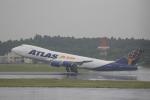 ☆ライダーさんが、成田国際空港で撮影したアトラス航空 747-87UF/SCDの航空フォト(写真)