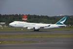 wingace752さんが、成田国際空港で撮影したキャセイパシフィック航空 747-467F/ER/SCDの航空フォト(写真)