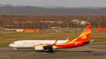 SNAKEさんが、新千歳空港で撮影した海南航空 737-8BKの航空フォト(写真)