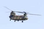 pcmediaさんが、静浜飛行場で撮影した陸上自衛隊 CH-47Jの航空フォト(写真)