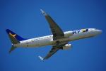 Silviaさんが、福岡空港で撮影したスカイマーク 737-82Yの航空フォト(写真)
