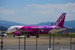 Silviaさんが、福岡空港で撮影したピーチ A320-214の航空フォト(写真)