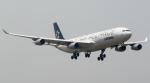 coolinsjpさんが、青島流亭国際空港で撮影したルフトハンザドイツ航空 A340-313Xの航空フォト(写真)