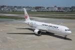 日向雪兎さんが、福岡空港で撮影した日本航空 767-346/ERの航空フォト(写真)