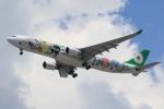 スポット110さんが、羽田空港で撮影したエバー航空 A330-302Xの航空フォト(写真)