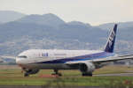 Gpapaさんが、伊丹空港で撮影した全日空 777-381の航空フォト(写真)