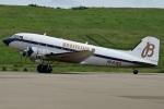 (`・ω・´)さんが、福島空港で撮影したスーパーコンステレーション飛行協会 DC-3Aの航空フォト(写真)