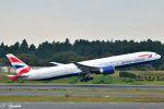 吉田高士さんが、成田国際空港で撮影したブリティッシュ・エアウェイズ 777-336/ERの航空フォト(写真)