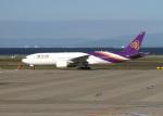 ころちゃんさんが、中部国際空港で撮影したタイ国際航空 777-2D7の航空フォト(写真)