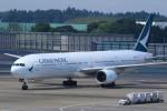 Espace77さんが、成田国際空港で撮影したキャセイパシフィック航空 777-367の航空フォト(写真)