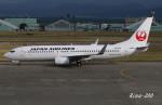 RINA-200さんが、小松空港で撮影した日本航空 737-846の航空フォト(写真)