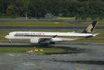 やまっちさんが、シンガポール・チャンギ国際空港で撮影したシンガポール航空 A350-941XWBの航空フォト(写真)