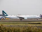 Mame @ TYOさんが、成田国際空港で撮影したキャセイパシフィック航空 777-367の航空フォト(写真)