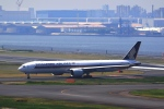 tomoyonさんが、羽田空港で撮影したシンガポール航空 777-312/ERの航空フォト(写真)