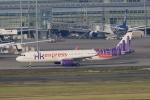 tomoyonさんが、羽田空港で撮影した香港エクスプレス A321-231の航空フォト(写真)