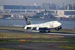 tomoyonさんが、羽田空港で撮影したタイ国際航空 747-4D7の航空フォト(写真)