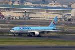 tomoyonさんが、羽田空港で撮影した大韓航空 777-2B5/ERの航空フォト(写真)