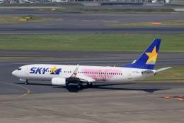 tomoyonさんが、羽田空港で撮影したスカイマーク 737-86Nの航空フォト(写真)