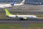 tomoyonさんが、羽田空港で撮影したソラシド エア 737-86Nの航空フォト(写真)