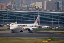 tomoyonさんが、羽田空港で撮影した日本航空 787-8 Dreamlinerの航空フォト(写真)