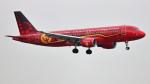 誘喜さんが、ロンドン・ヒースロー空港で撮影したブリュッセル航空 A320-214の航空フォト(写真)