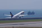 mild lifeさんが、神戸空港で撮影したスカイマーク 737-81Dの航空フォト(写真)