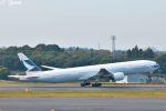 吉田高士さんが、成田国際空港で撮影したキャセイパシフィック航空 777-367の航空フォト(写真)